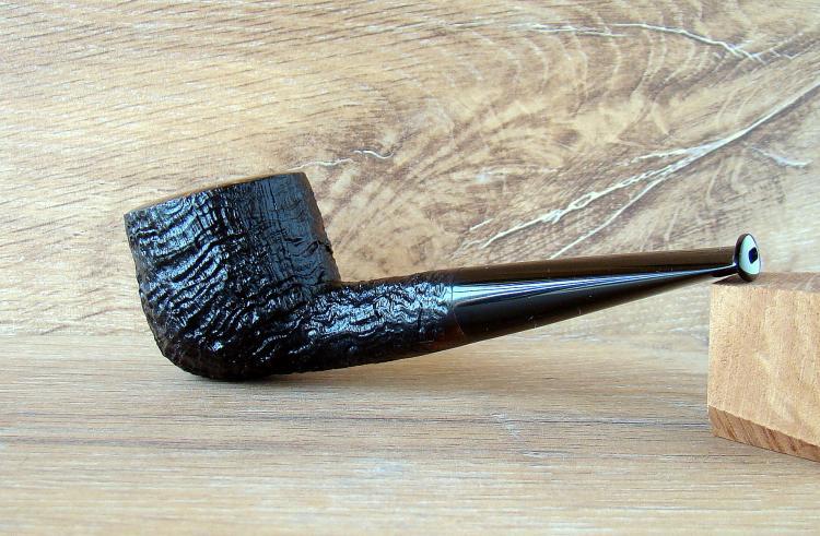 Alexsandr Bestik Sandblasted Pot