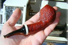 A.Bestik 2118 Sandblasted Bent Egg