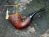 A.Bestik 3320 Sandblasted Danish Freehand